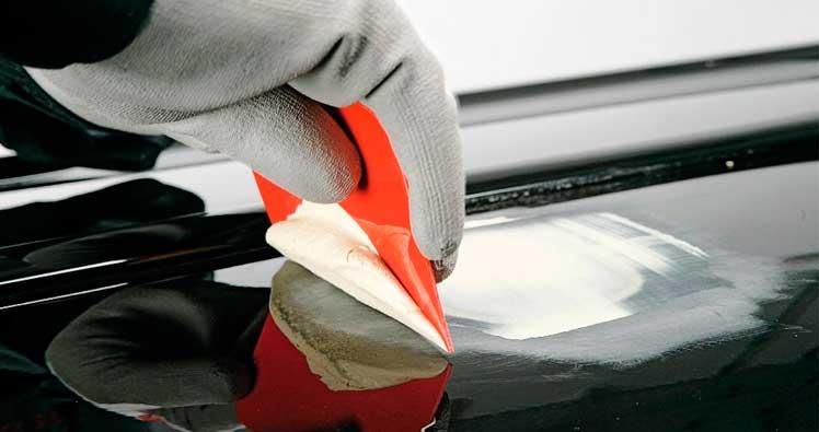 Reparar fibras y plásticos coche